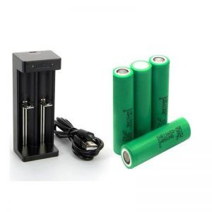 PACK 4 ACCUS SAMSUNG /CHARGEUR MC2