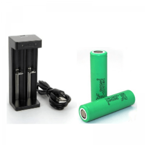 PACK 2 ACCUS SAMSUNG /CHARGEUR MC2